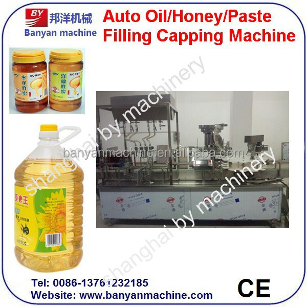 Best price edible oil / vegetable oil filling and capping machine with ce
