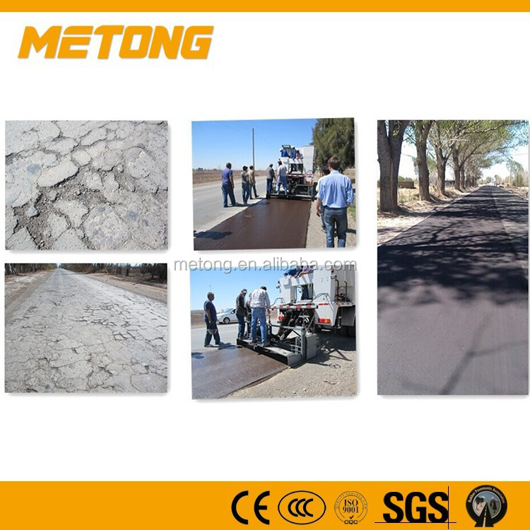 3-15mm sealing thickness slurry sealer moified asphalt paver