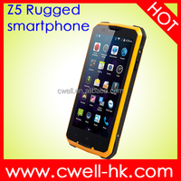 Good Price MTK 6572 dual core unlocked android phone Jeep Z5 shockproof rugged phone