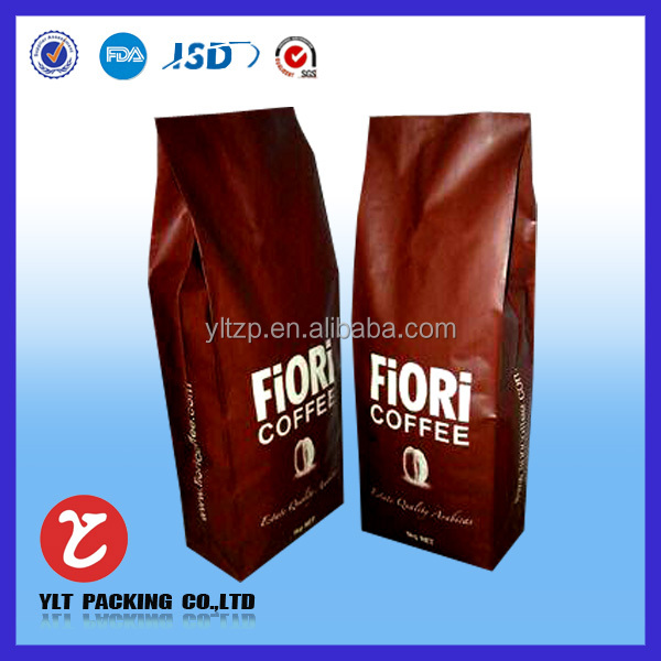 HOT! Fashion Beautiful Custom printed single serve coffee bags