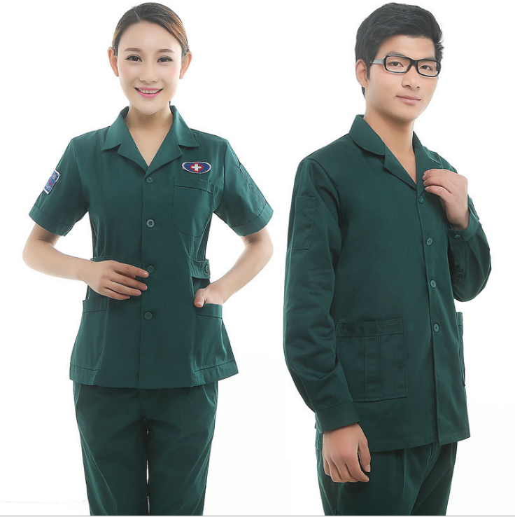 customized new style female protective printed hospital surgery wear made in china nice breathable promotional scrub suit