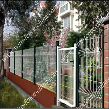 ornamental model of gates and iron fence factory in china