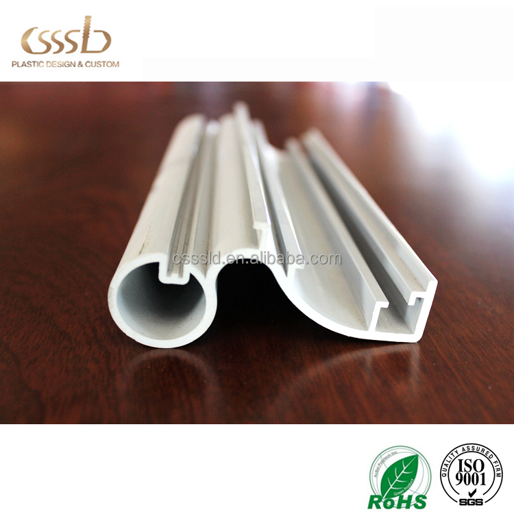 PVC co extrusion color window door frame section plastic upvc profile