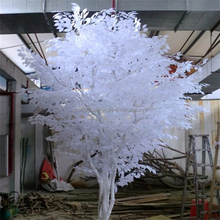 New style high imitation small artificial white fake banyan tree