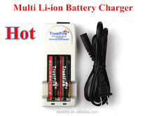 2014 Alibaba best selling The Excellent Design 18650 Lithium Battery Charger/cell phone portable charger/excel charger