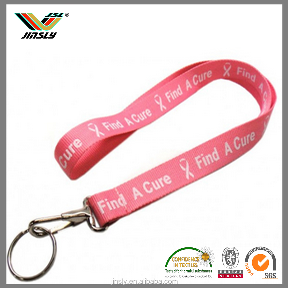 Accept Paypal Customized hot sell unique pink vamo v3 lanyard