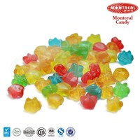 Sweet sour gummy star mint candy bulk