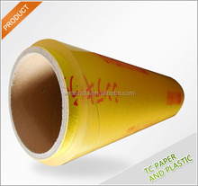 15 micron supermarket and hotel use food grade pvc cling film pvc plastic duct wrap