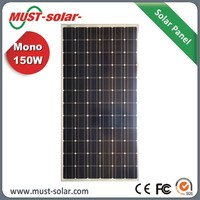 energy saving mono solar panel full certificate solar panel 160 watt 300 watt