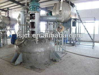 Supply epoxy resin reactor