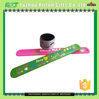 promotion cheap personalized name slap bracelets