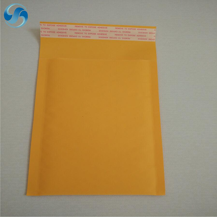 Kraft shipping envelope courier weight 2g-56g bubble mailer with good price