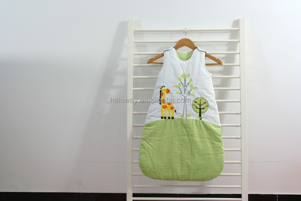Bedtime baby cotton sleeping bag, sleeping sack