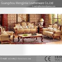 Best quality antique living room european corner sofa