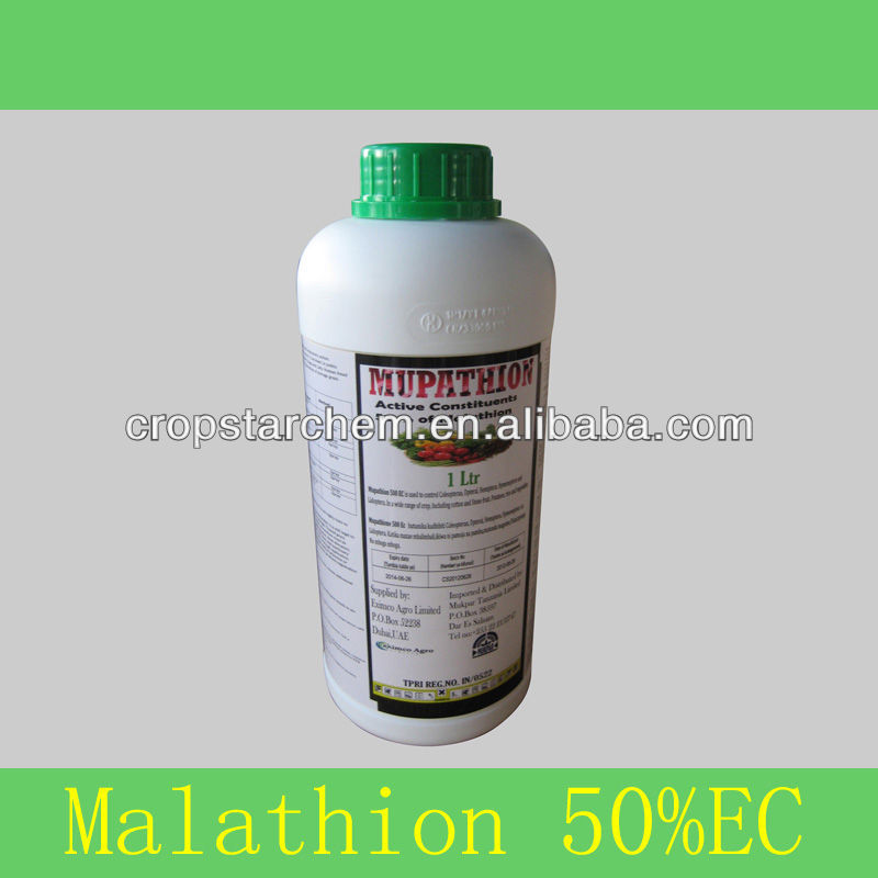 Termite Control Insecticide Malathion 50%EC Agrochemical Bottle