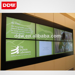 Wall mount lcd video wall display 42 LG video wall HDMI/DVI/VGA/AV/YPBPR/IP 1920x1080 DDW-LW4201