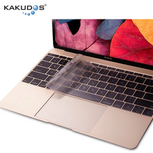 Simple business style Perfect details Made machine craft TPU keyboard skin for macbook