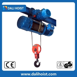 0.5T-20T CE Approved 380V Electric Wire Rope Hoist Price&Tower Crane Hoist Winch