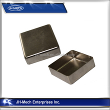 OEM small stainless steel sheet metal boxes