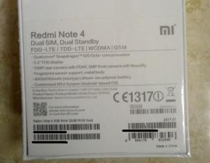 wholesale global version Xiaomi redmi note 4 32gb/64gb /Xiaomi Redmi 4A 32gb /Xiaomi redmi 4x 32gb EU mobile phone