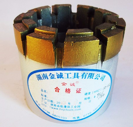 AQ BQ NQ HQ PQ diamond core drill bit