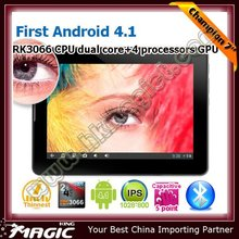 Dual core rockchip 3066 tablet with Bluetooth