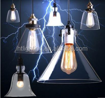 Designer art creative personality glass pendant light modern hanging lamp for bar / coffeeshop