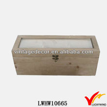 Luckywind Vintage Wooden Storage Box