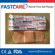 FDA Approval Sterile First Aid Plastic Bandage Strip for scrapes