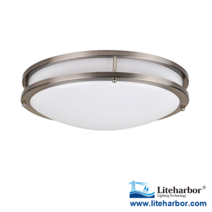 Liteharbor High Quality Classical 12 Inch 15W Round LED Ceiling Light with ETL Listed