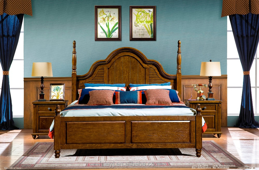 American-style antique bedroom suite