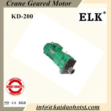 1.5Kw geared motor with buffer for end carriage
