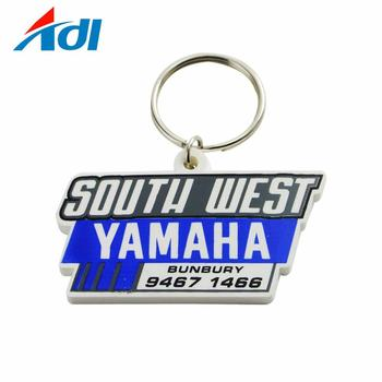 Factory direct sale custom personalized soft pvc rubber keychains