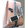 smart luggage 2016 new luggage usb charger luggage