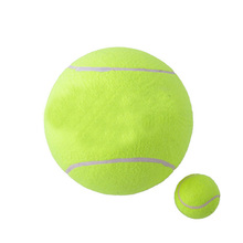 Promo 9 inches Rubber Inflatable Signature Jumbo tennis ball