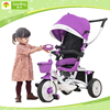 Baby trike ride on toys, detachable kids metal tricycle, Steel Frame kids trikes