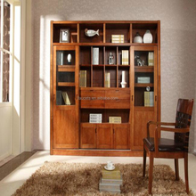 New Design Bookshelf Excellent Wood Book Storage Cabinet,cheap mobile pedestal