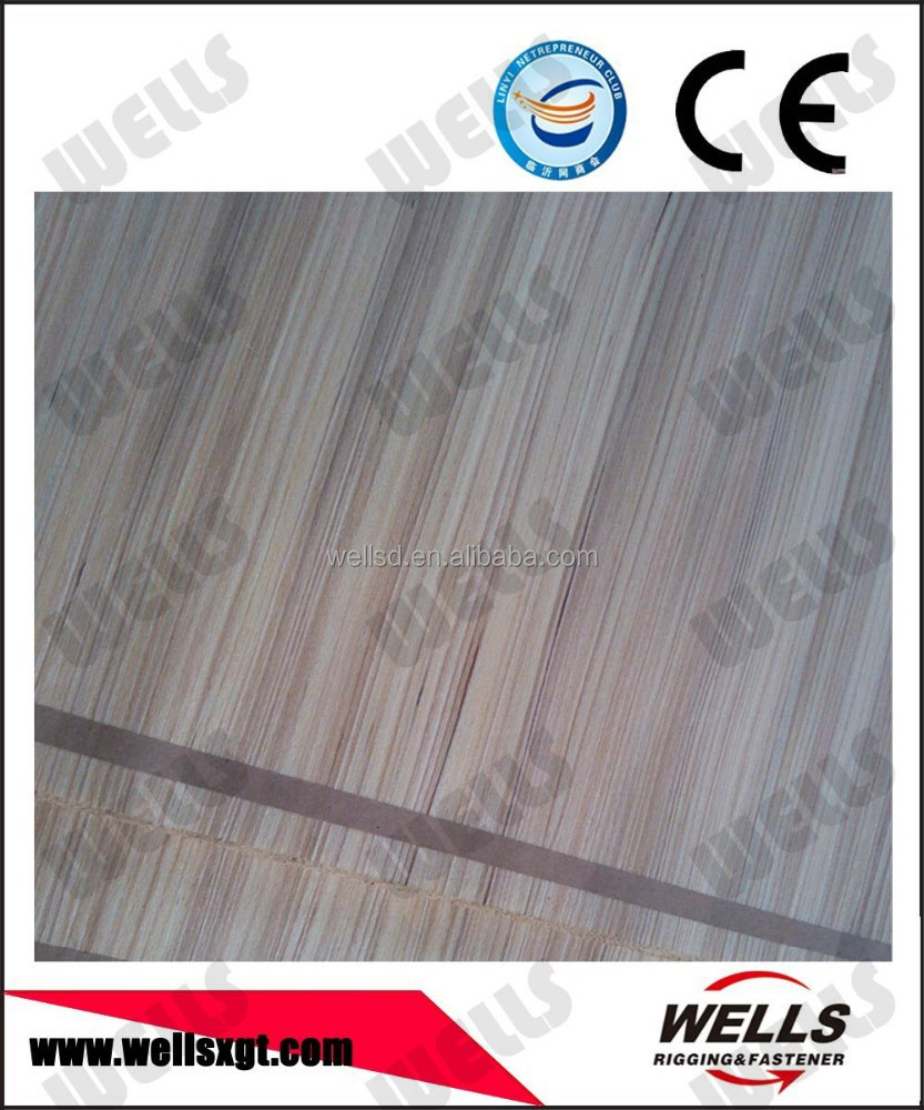 0.6mm Taped rotary cut basswood veneer