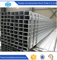 Trade Assurance Q195 GB/T3094-2000 pre-galvanzied steel rectangular pipe for drill wholesale alibaba