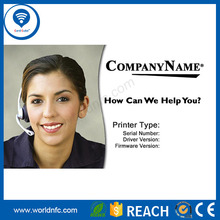 High quality business T5577 employee ID card/student photo ID card
