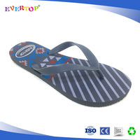 Cool grey men slipper 2017 pedicure flip flop manufactures supply flip flops back strap