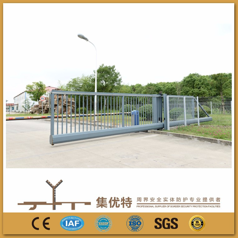 Automatic trackless used to school sliding modern main gate designs