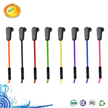 Portable fashionable wired sport bluetooth headset