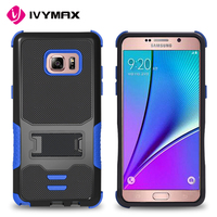IVYMAX new premium scratch resistant 3 in 1 defender combo case housing for samsung galaxy note 7 celulares