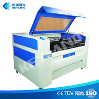 Cheap craft paper acrylic balsa wood jigsaw puzzle textile 80W 60W desktop cnc laser cutter price