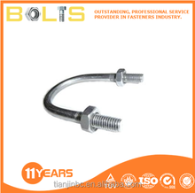 China stainless steel 304 U bolts stirrup bolts