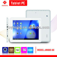 8 inch Quad Core alwinner A31S 3G Tablet PC