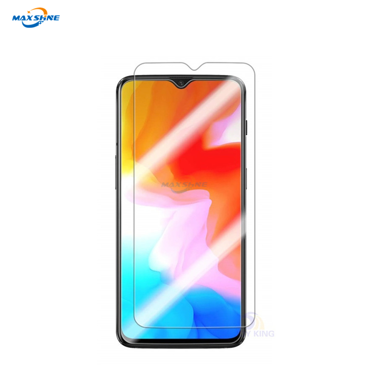 Maxshine New Arrival Mobile Anti-Fingerprint 5D Tempered Glas Screen Protector For Oneplus 6T