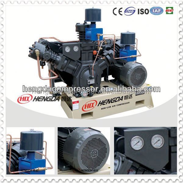 high pressure non lube air compressor dental oilless and silent air compressor