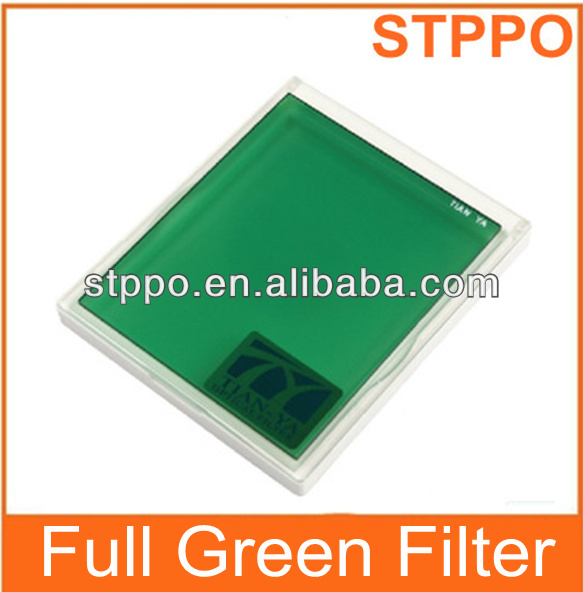 Tianya Square Camera Lens Filter Full Green Color Filter for Cokin P Filter Holder